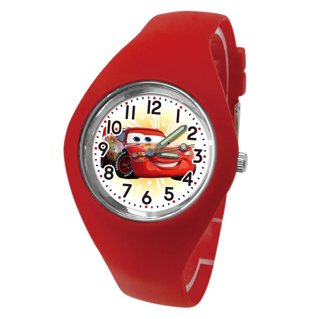【Disney】極速麥坤 輕量手環錶_艷紅