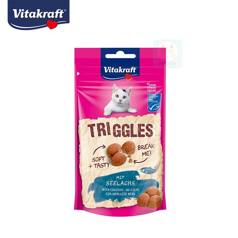 【德國 Vitakraft】貓零食 貓愛軟軟球 鱈魚口味 VITA -布丁狗焦糖貓寵物館