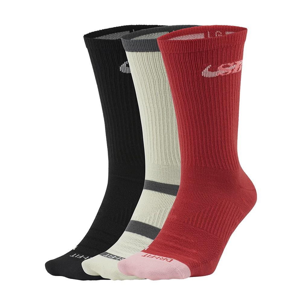 NIKE SB EVERYDAY MAX LTWT CREW 黑 米白 紅 滑板 中筒 運動襪 CU6588901