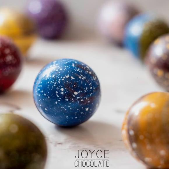 Joyce Chocolate 星球巧克力禮盒(6入/盒) (球型款)