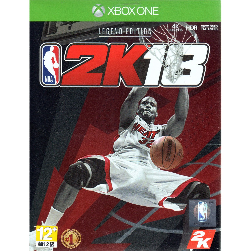 XBOXONE遊戲 傳奇珍藏版 美國職業籃球 NBA 2K18 中文亞版  【魔力電玩】