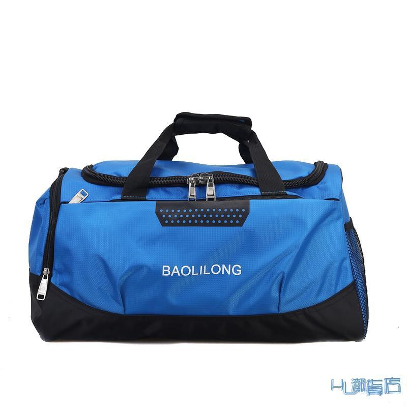 旅行包 鞋位手提旅行包男大容量行李包斜挎包短途出差旅行袋健身旅游包女『HL325』