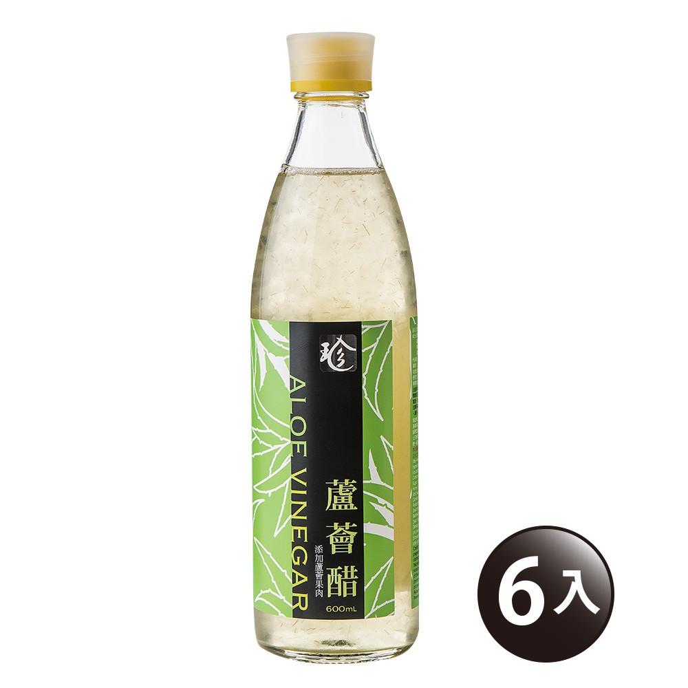 【百家珍】蘆薈醋600mL-6入組