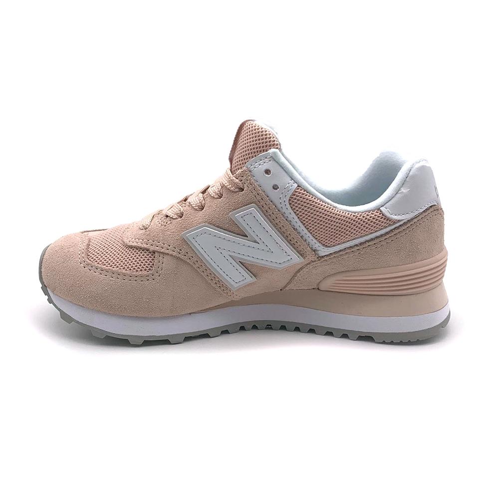 NEW BALANCE 女復古慢跑鞋 WL574OAB-B 粉