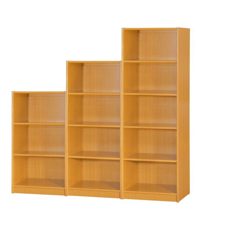 【KB245-10】赤陽色開放書櫃3格