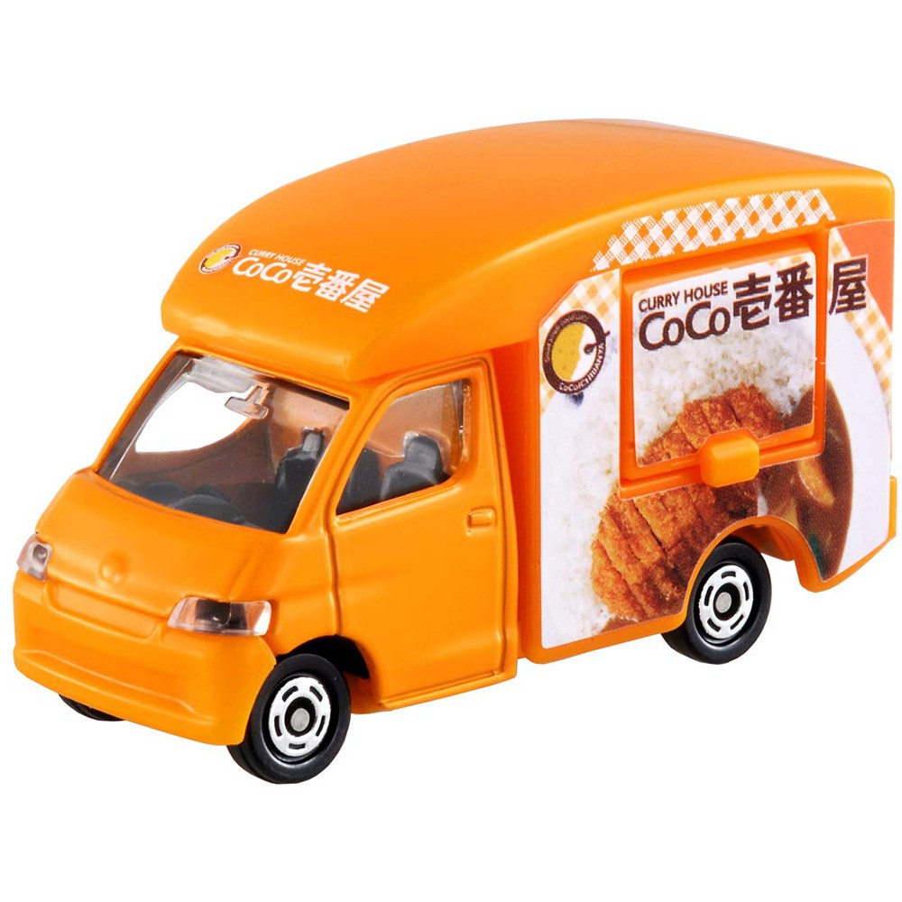 TOMICA 多美小汽車NO.091 COCO咖哩餐車