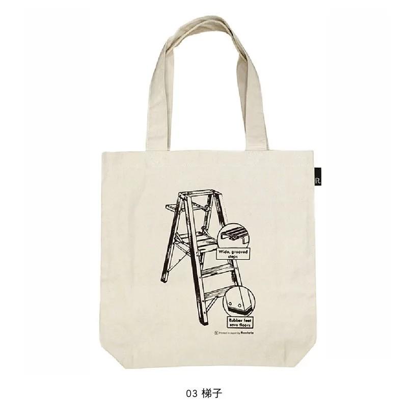 ROOTOTE 印花綿質長版肩背包-03款(1600)