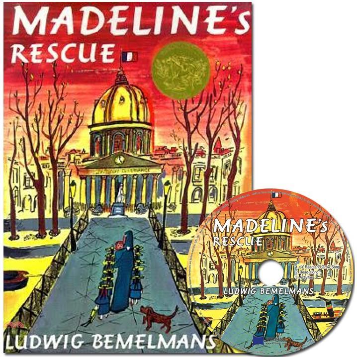 Madeline's Rescue (1平裝+1CD) 廖彩杏老師推薦有聲書第2年第10週【三民網路書店】[79折]
