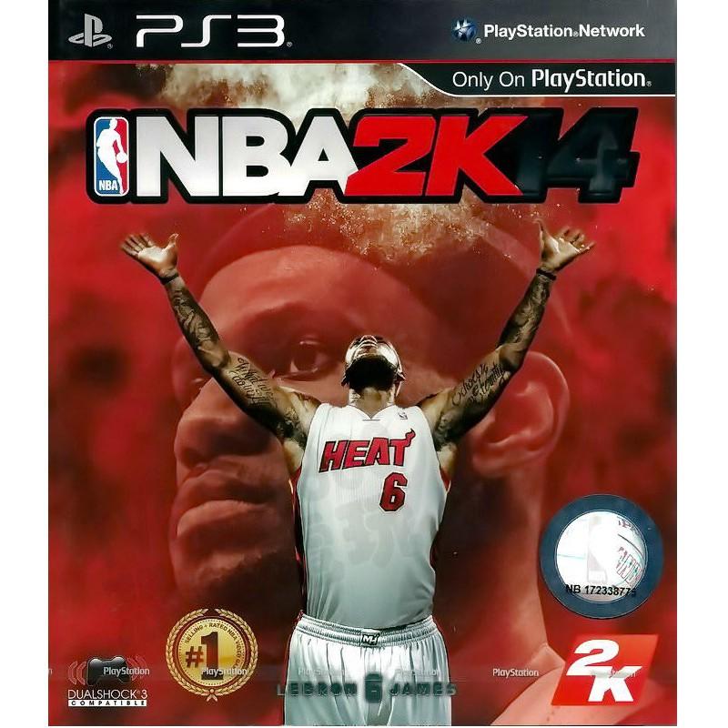PS3原版片 NBA 2K14 中文版全新品【員林雪風電玩】