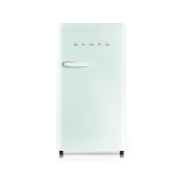 聲寶美型99L單門冰箱 馬卡龍綠  【大潤發】