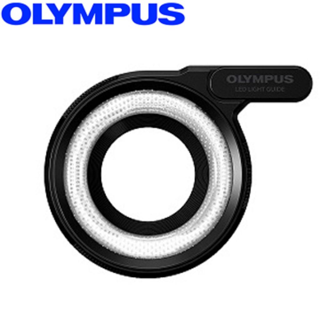 Olympus LG-1 原廠環形 LED閃光燈 補光燈 公司貨