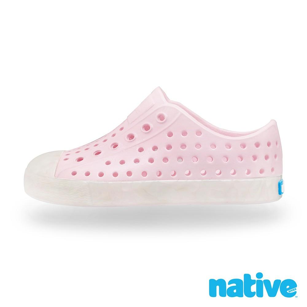 native 小童鞋 JEFFERSON 小奶油頭鞋-珍珠人魚