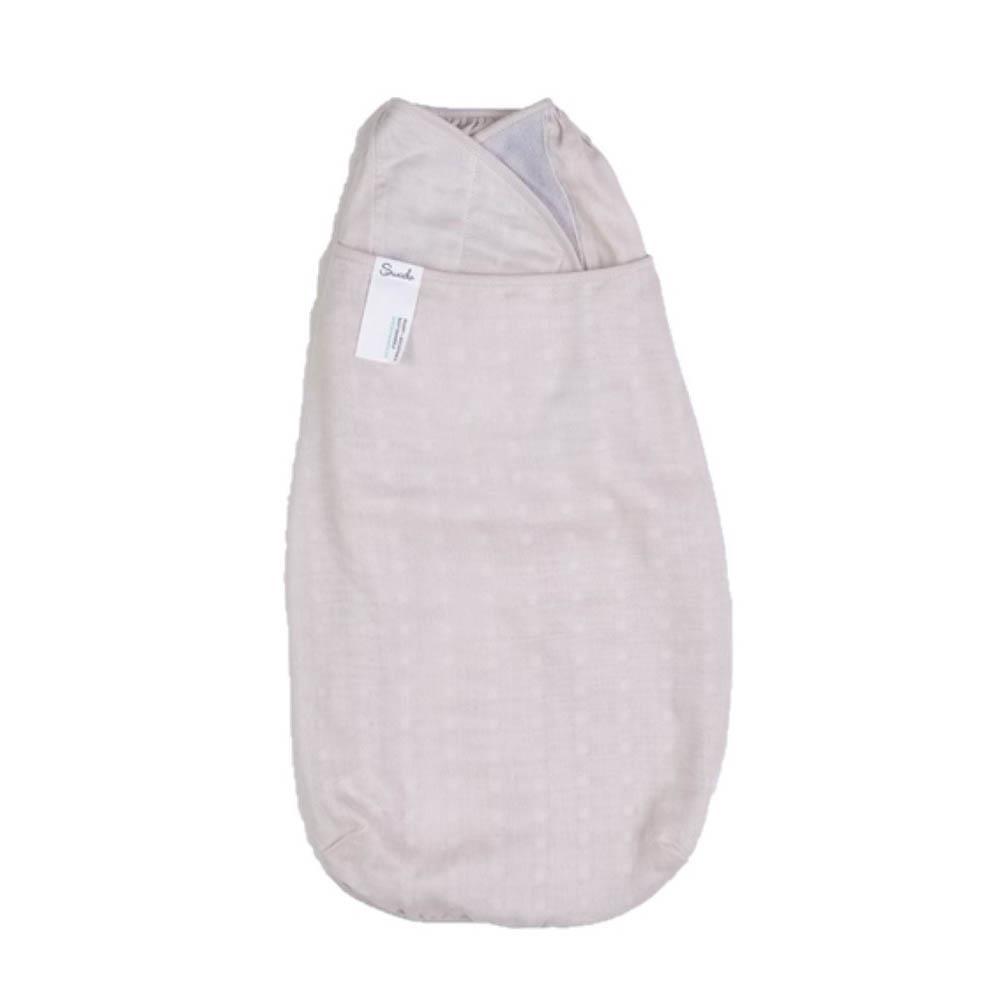 美國 Swado 全階段靜音包巾- 紗布竹纖棉-月光米[免運費]