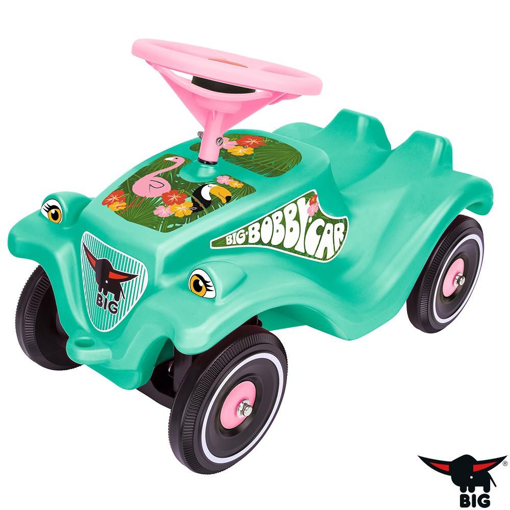 德國BIG  波比車-綠色 熱帶火烈鳥經典款