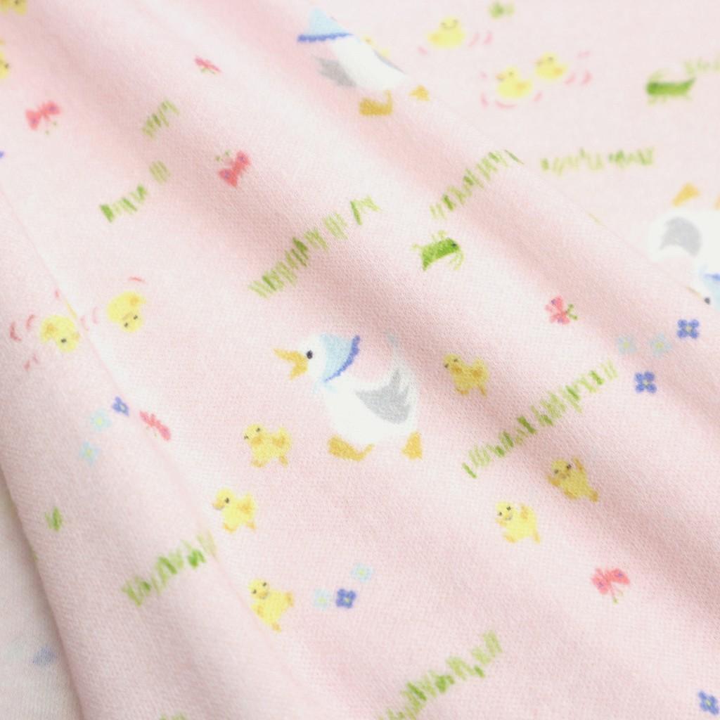 針織輕磨毛布-田園趣