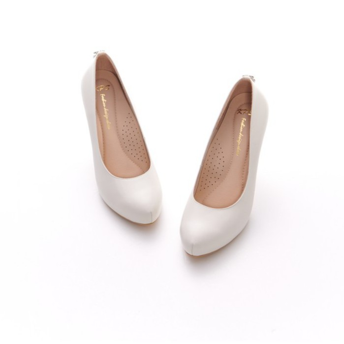 【KPS台灣精緻手工鞋】迷人美型亮鑽高跟包鞋