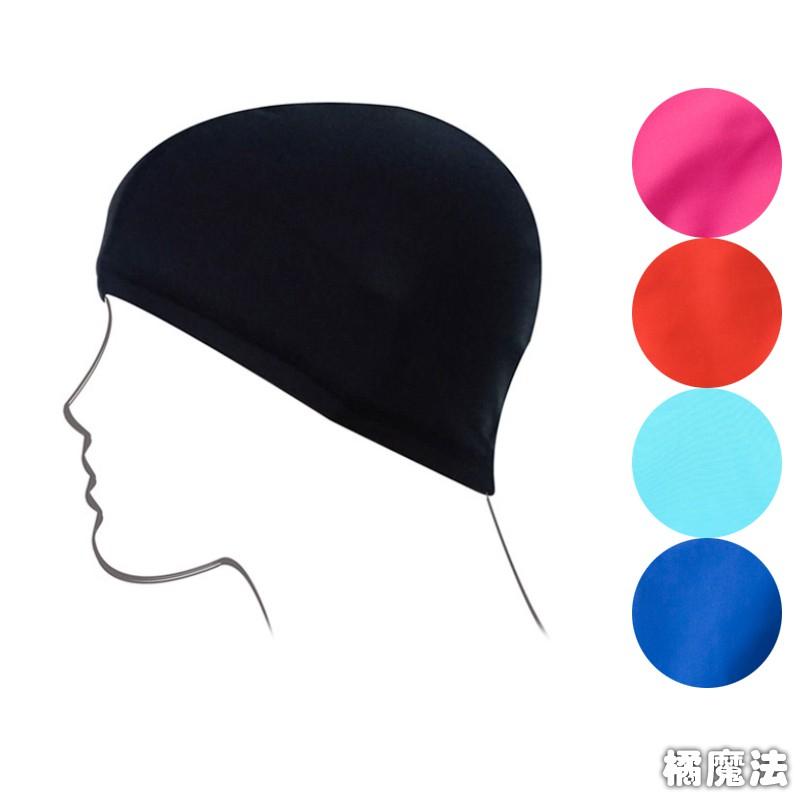 基本款素色泳帽 泳帽 SpA 泡湯 游樂園 游泳池  橘魔法 現貨 大人 小孩 皆可用【p0061187372618】