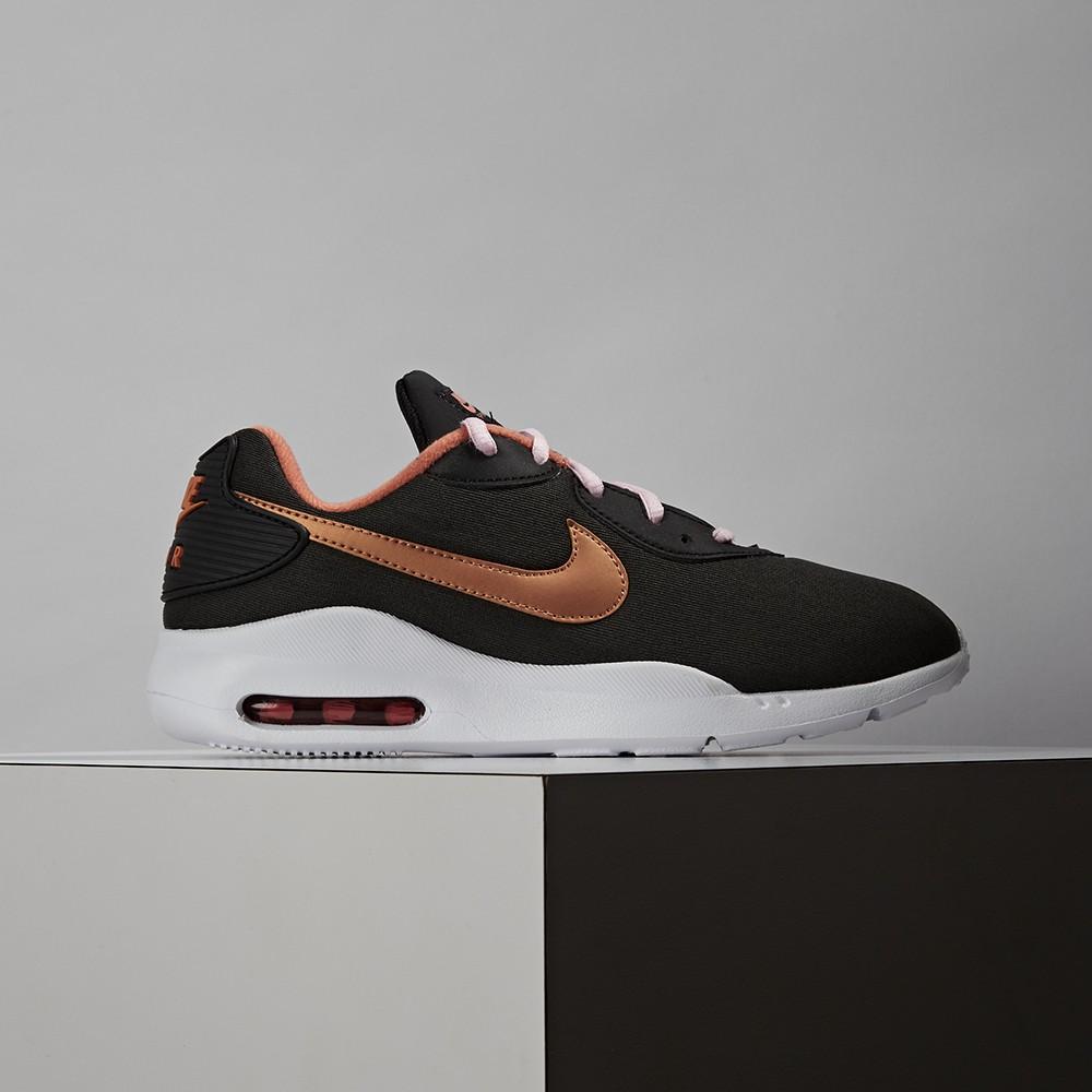Nike Air Max Oketo 女款 黑橘 氣墊 運動 慢跑 休閒鞋 CD5449-002