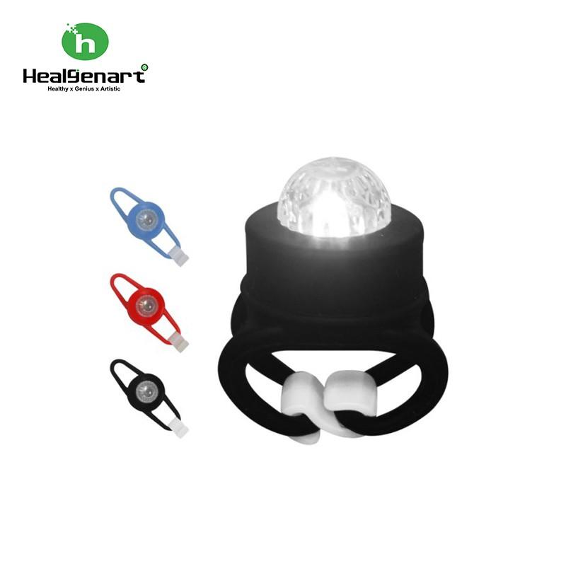 【Healgenart】LED青蛙燈(2入) 自行車警示燈 警示燈 多功能LED 露營小燈 青蛙燈 二段式七彩燈光