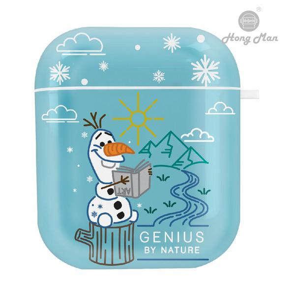 【迪士尼】冰雪奇緣2 雪寶 迪士尼系列 AirPods防塵耐磨保護套