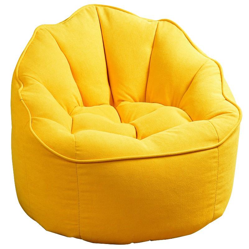 新品-沙發 創意休閑小戶型布藝懶人沙發躺椅單人沙發陽臺臥室小沙發豆袋沙發 優選