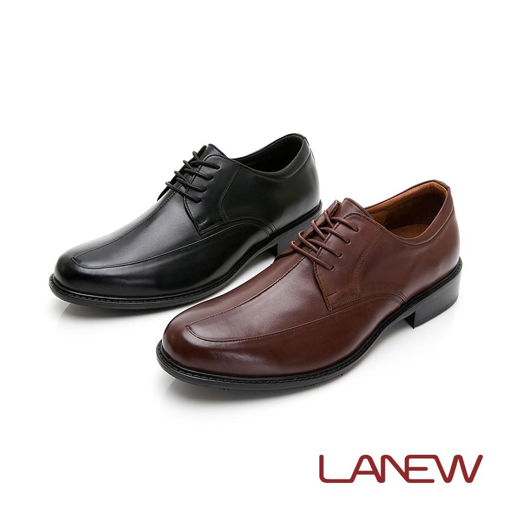 【LA NEW】Q Lite 經典素面綁帶紳士鞋(男2250338)