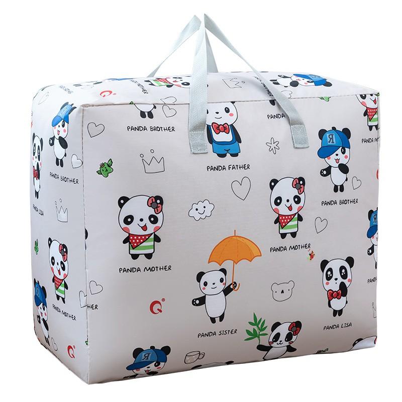 收納包女 Z 幼兒園被子子收納袋子裝衣服的搬家打包棉被牛津布整理袋換季衣物
