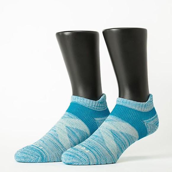 Footer 繽紛花紗輕壓力足弓船短襪 T108L