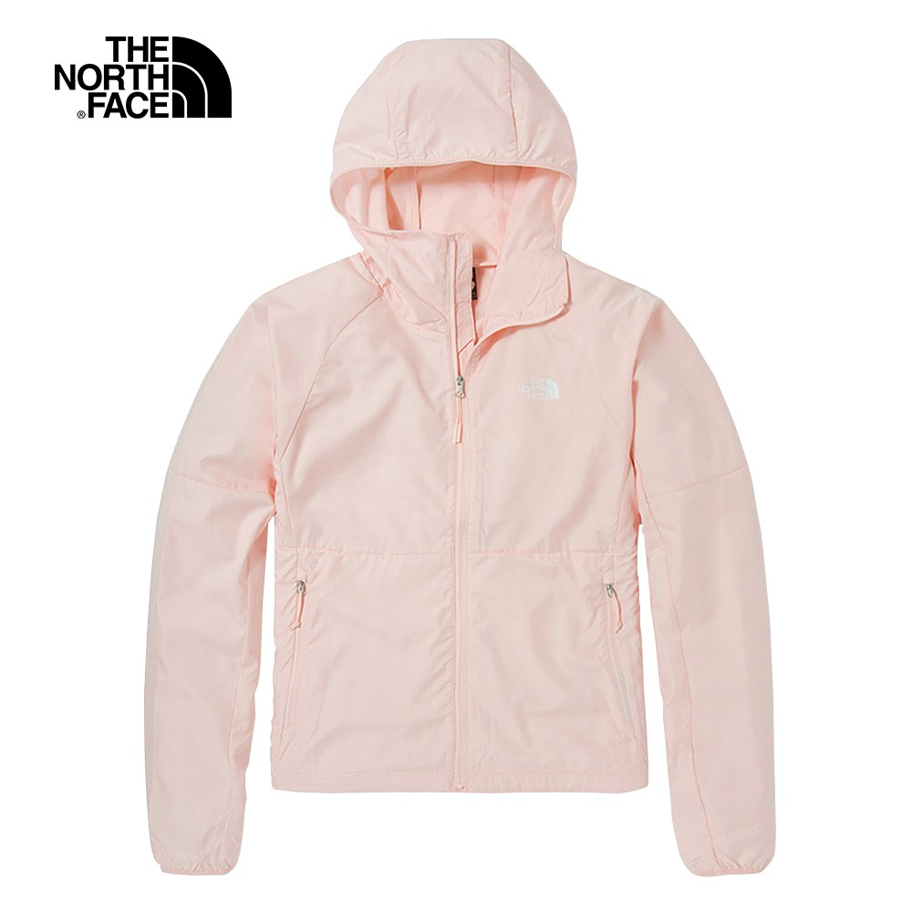 The North Face FLYWEIGHT 女 風衣外套 粉 NF0A49B4WC6【GO WILD】