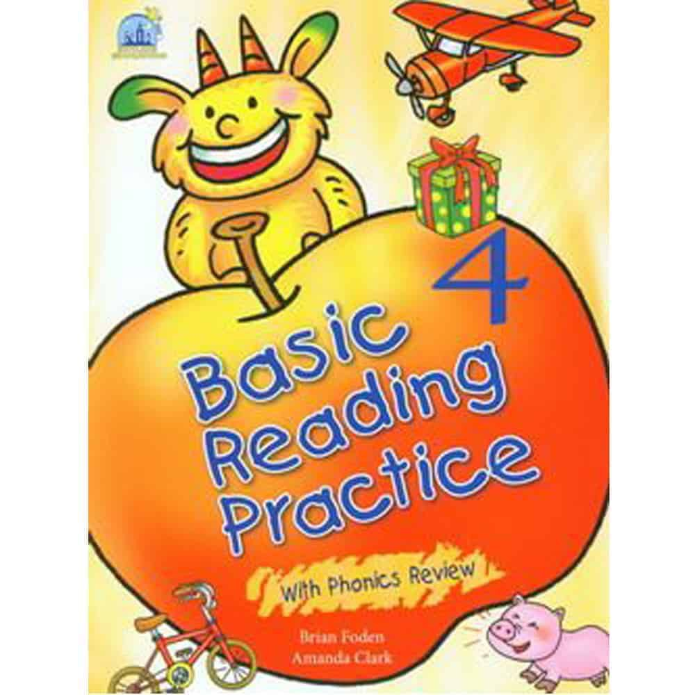 Basic Reading Practice 4 with Phonics Review(with CD)
