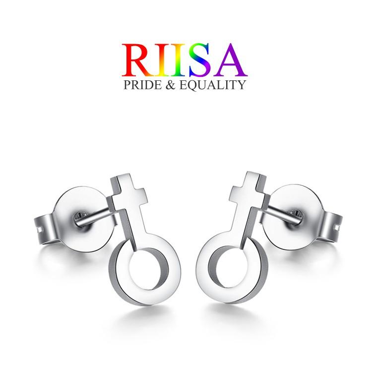 RIISA梨衣莎頂級鈦鋼堅定GL抗過敏耳針