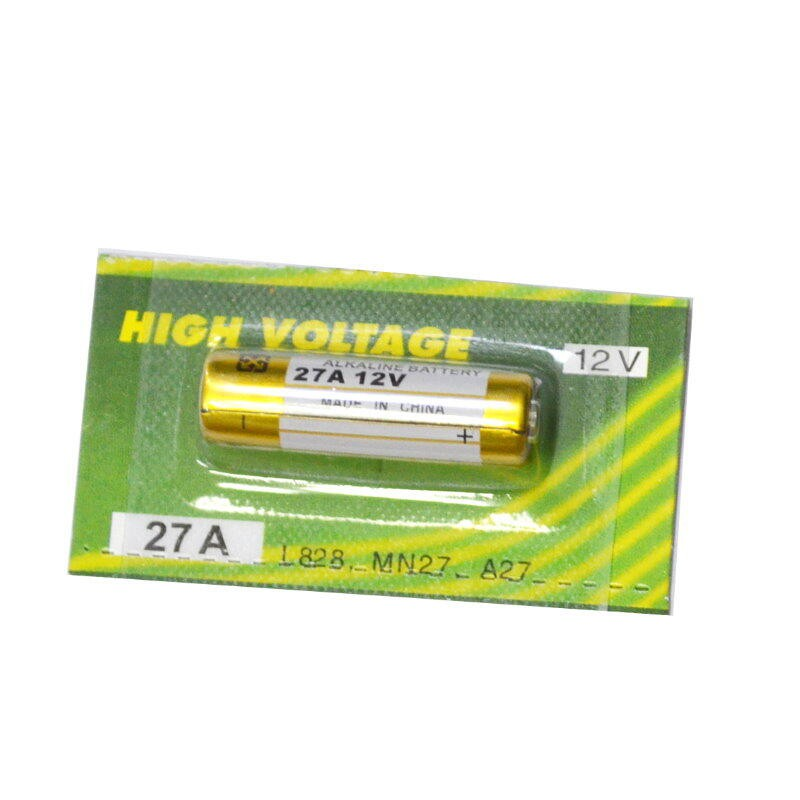 高容量鹼性電池27A 防盜器遙控器電池 汽機車遙控器電池L828【GU324】