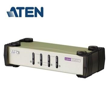 ATEN 4埠USB+PS/2 雙介面 KVM 多電腦切換器 CS84U