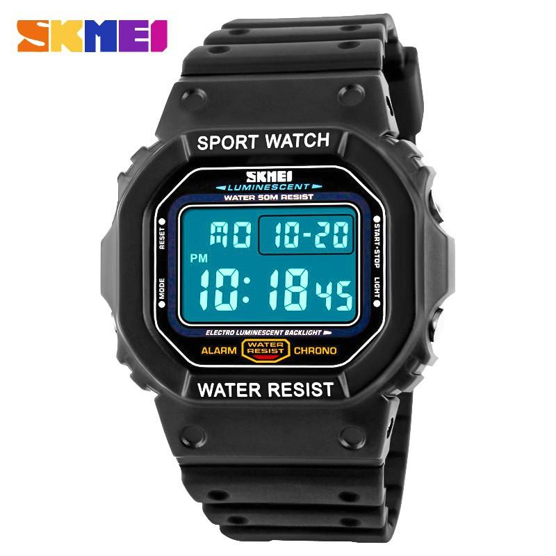 時刻美 SKMEI  1134 LED數字運動手錶時尚戶外軍事手錶鬧鐘防水手錶手錶