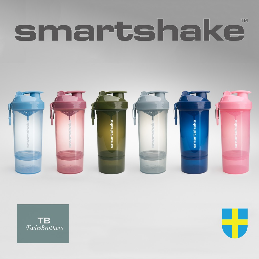 [Smartshake] Original2Go One 雙層搖搖杯 800ml 健身 高蛋白 乳清