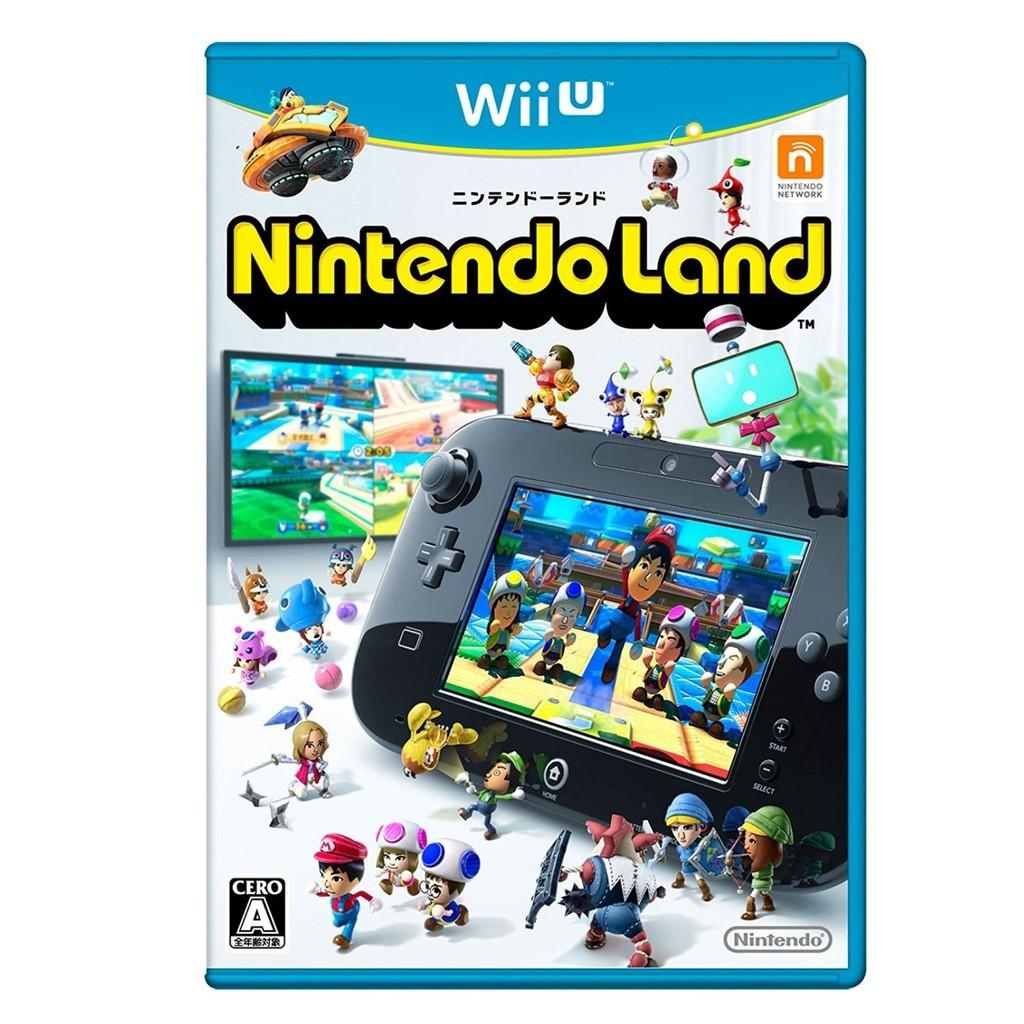WiiU 任天堂樂園 Nintendo Land 純日版全新品 派對遊戲【收錄12款遊戲】台中星光電玩