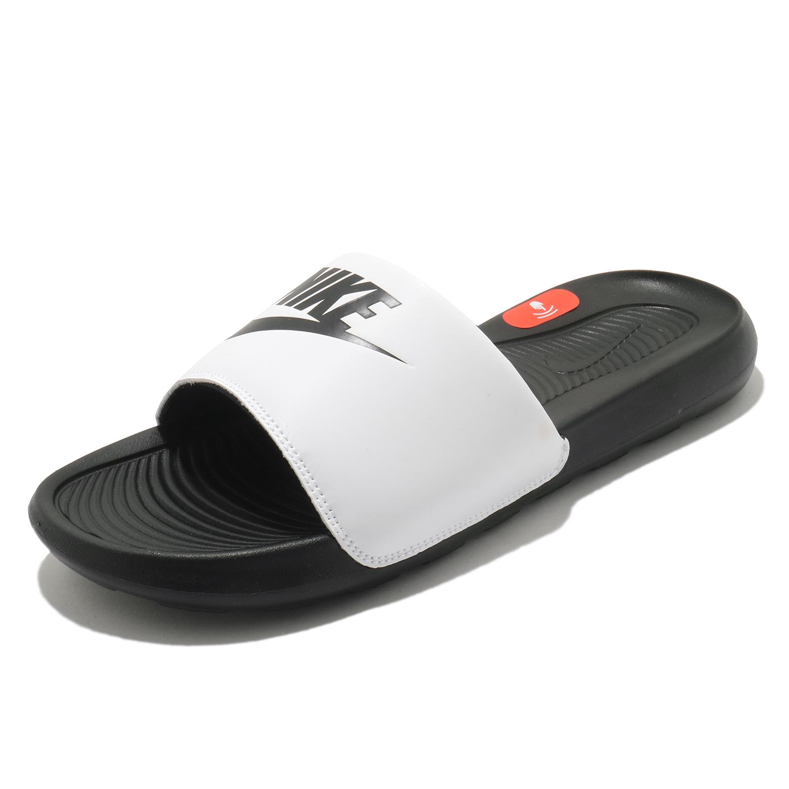 Nike 拖鞋 Victori One Slide Mix 黑白 鴛鴦配色 男鞋 涼拖鞋【ACS】 DD0234-100