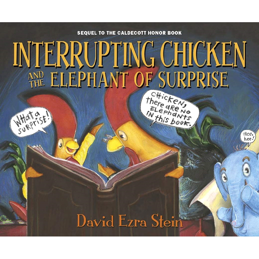 Interrupting Chicken and the Elephant of【禮筑外文書店】[79折]
