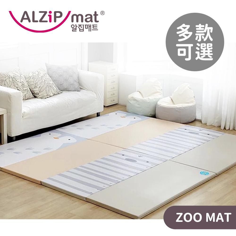 ALZiPmat 韓國 ZOO MAT 動物系列四折摺疊地墊 保護墊 軟墊 防水 厚4公分【YODEE優迪嚴選】