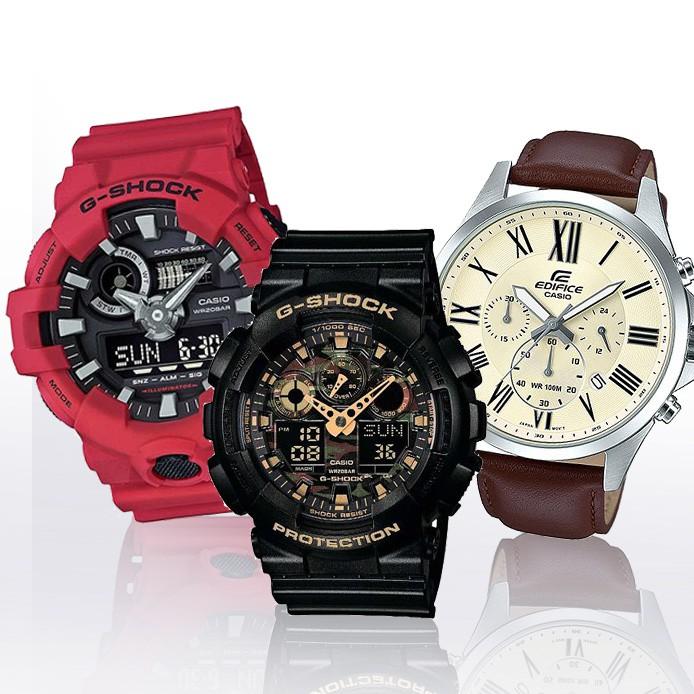 【CASIO】FOR MAN 上山下海 辦公旅遊 時尚實用超值錶款正版宏崑公司貨