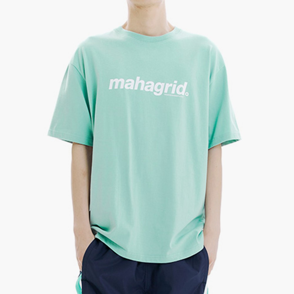mahagrid 經典大Logo短袖Tee(綠)【21SS】