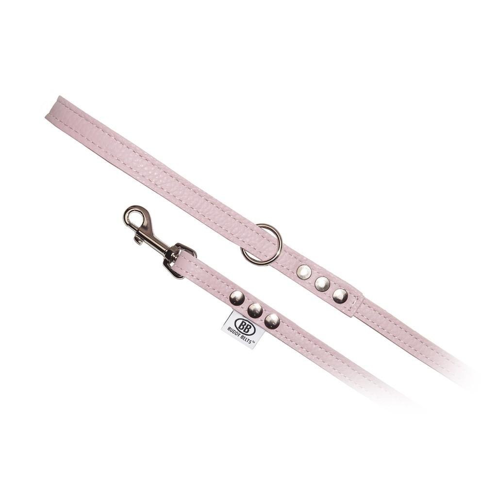 加拿大Buddy Belts真皮牽繩-粉色