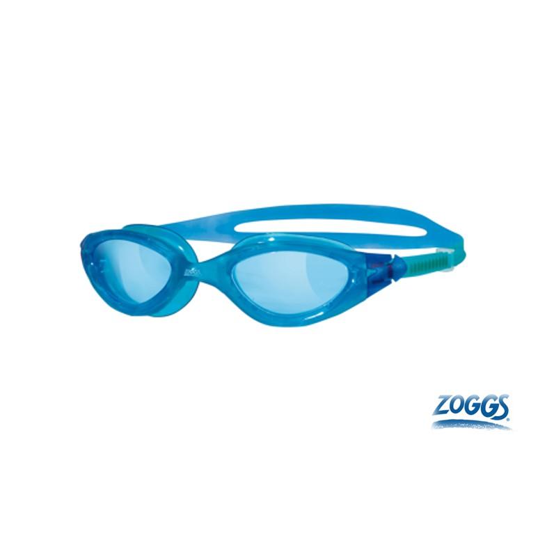 成人 超廣角抗敏基礎型泳鏡-藍