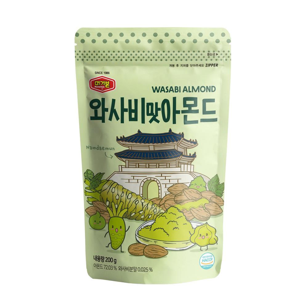 韓國正宗Murgerbon芥末風味-杏仁果200g【康是美】