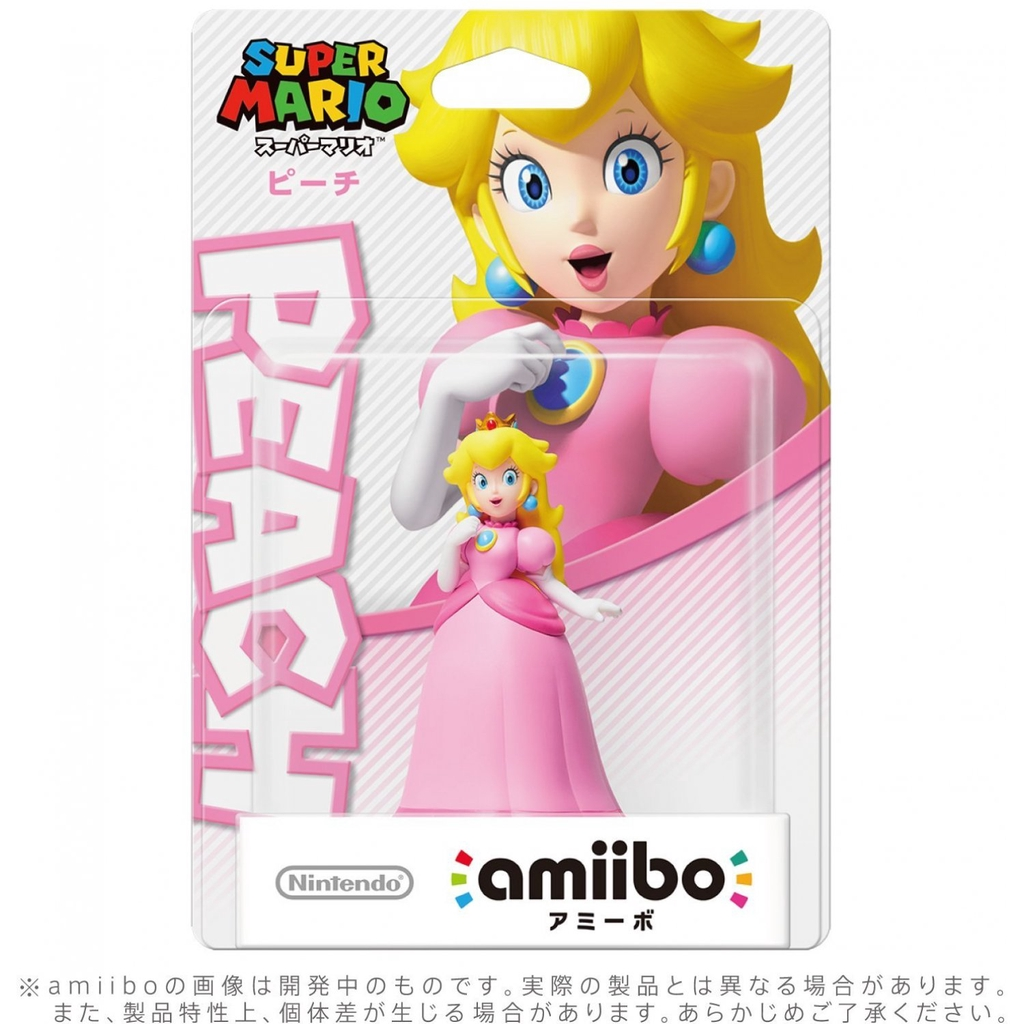 NS Switch Amiibo公仔 碧琪公主第二彈(超級瑪利歐系列)【預購夏季上市】【GAME休閒館】