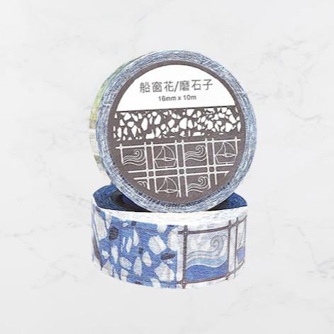 老屋顏 船窗花/磨石子紙膠帶 MIT台灣在地工藝家製造