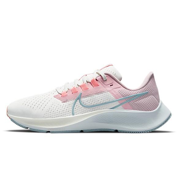NIKE AIR ZOOM PEGASUS 38 女慢跑鞋 氣墊舒適 白粉 CW7358103 Sneakers542