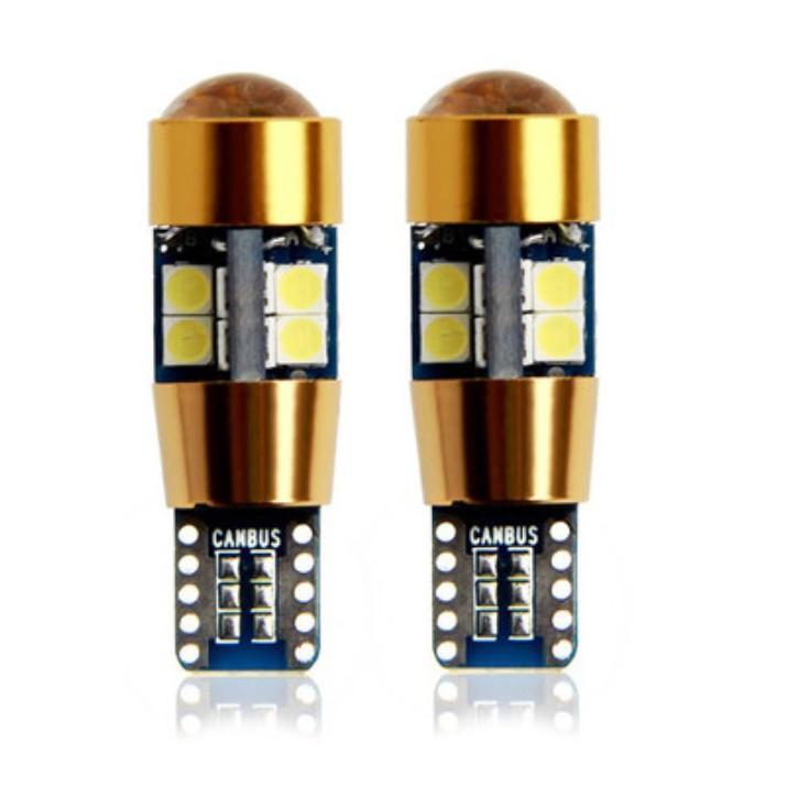 LED車燈 T10 19晶3030燈珠 恆流12V LED牌照燈 T10燈泡 解碼車燈 T10LED車門燈