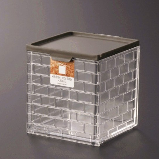 inomata 1149 廚房儲物盒-棕  4905596114970
