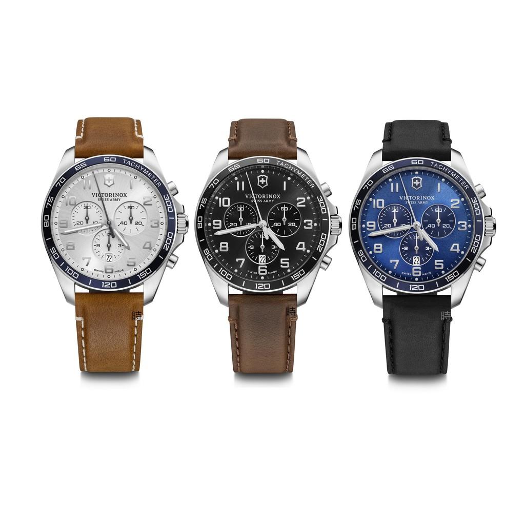 VICTORINOX 瑞士維氏 FieldForce 計時腕錶 VISA-241928